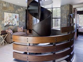 Andrea Schumacher Interiors Pasillos, vestíbulos y escaleras modernos