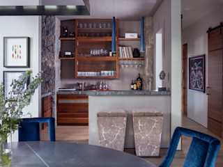 Andrea Schumacher Interiors Modern Yemek Odası