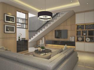 Veon Interior Studio Living room Engineered Wood Wood effect