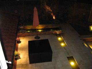 Small modern garden Jane Harries Garden Designs Modern style gardens Stone Grey