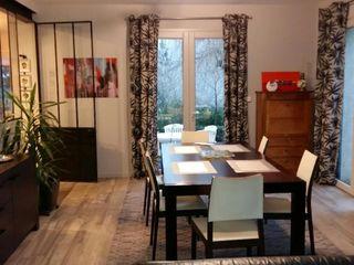 Transformation pièce de vie, cuisine avec verrière L'Armoire aux Patines Salle à mangerAccessoires & décorations