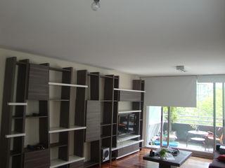 ARQUITECTA MORIELLO Living roomShelves