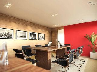 SET Arquitetura e Construções Modern style study/office