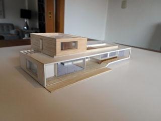 [ER+] Arquitectura y Construcción Дома в стиле минимализм