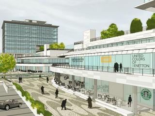 [ER+] Arquitectura y Construcción Торговые центры в стиле модерн