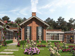 Компания архитекторов Латышевых 'Мечты сбываются' Casas coloniais