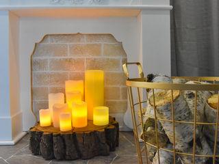 Wohlfühlatmosphäre durch Romantik und Moderne Wohnjuwel Home Staging Flur, Diele & TreppenhausAccessoires und Dekoration Holz
