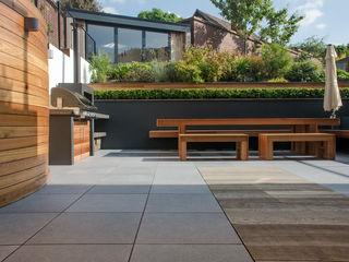 A Contemporary Terrace Garden Robert Hughes Garden Design Jardines de estilo moderno