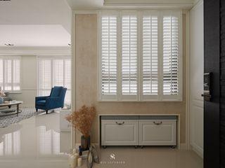 理絲室內設計有限公司 Ris Interior Design Co., Ltd. Puertas y ventanasBarras y accesorios Blanco