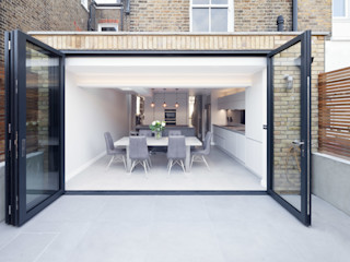 Clapham Old Town, Lambeth Proctor & Co. Architecture Ltd Modern dining room