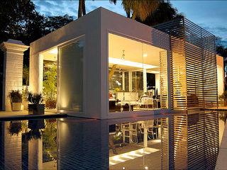 Pavilhão de Entrada - Campinas Decor Izilda Moraes Arquitetura Portas de vidro