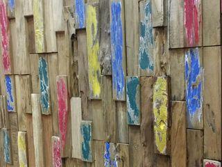 STREIGHTEX Parede e pavimentoRevestimentos de parede e pavimentos Madeira maciça Multi colorido