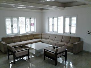 Rawadapura Tobacco Office AOM Interior Office buildings Plywood White