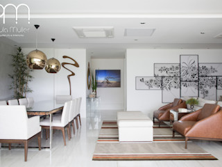 Paula Müller Arquitetura e Design de Interiores Modern dining room