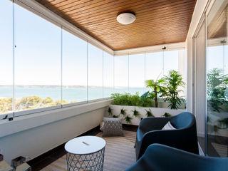 Traço Magenta - Design de Interiores Balcon, Veranda & TerrasseAccessoires & décorations