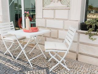 STREIGHTEX Lojas & Imóveis comerciais minimalistas Plástico Branco