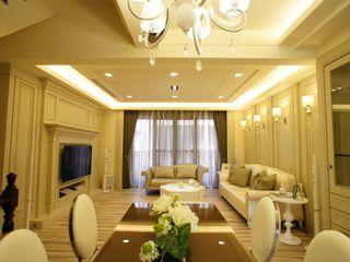 棠豐室內裝修設計工程有限公司 Livings de estilo clásico