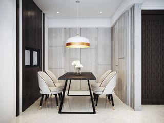 棠豐室內裝修設計工程有限公司 Comedores de estilo moderno
