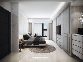 棠豐室內裝修設計工程有限公司 Dormitorios de estilo moderno