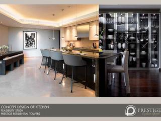 Abu Dhabi - Feasability Study Prestige Architects By Marco Braghiroli Їдальня