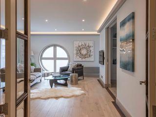 Paddington Penthouse - London Prestige Architects By Marco Braghiroli Modern living room
