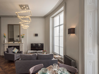 Bachelor Pad - Hyde Park Prestige Architects By Marco Braghiroli Living room
