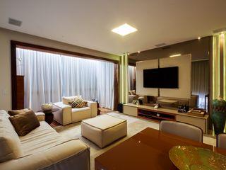 studio vert arquitetura 现代客厅設計點子、靈感 & 圖片