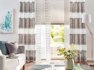 UNLAND International GmbH 窗戶與門窗戶裝飾品 布織品 Beige