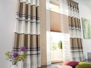 UNLAND International GmbH 窗戶與門窗廉與布簾 布織品 Brown