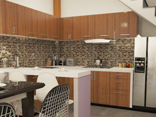 CN y Arquitectos Built-in kitchens Ceramic