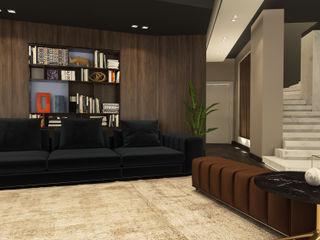 ICONIC DESIGN STUDIO Kolonyal Oturma Odası