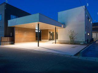 土間のある八山田の家 TKD-ARCHITECT 木造住宅 白色