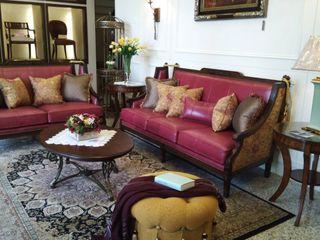 竹北柏麗精品傢俱 Living roomAccessories & decoration Solid Wood Red