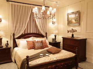 竹北柏麗精品傢俱 BedroomBedside tables Solid Wood Brown