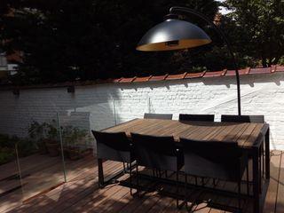 Aménagement d'un jardin de ville sur 4 niveaux Urban Garden Designer JardinCheminées & Barbecues Verre