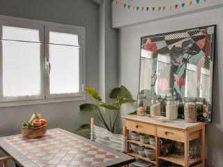 Reforma de Atico Hiruki studio Casas de estilo escandinavo