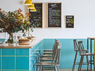 """""""El Curry Verde"""" Restaurante Vegetariano Hiruki studio Gastronomía de estilo escandinavo"""