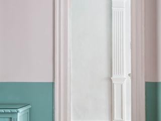 Reforma de Piso Hiruki studio Salones de estilo minimalista