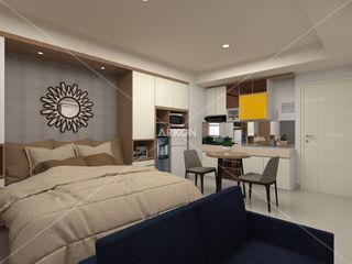 3D Apartment Trivium Terace, Cikarang Bekasi ARKON BedroomBeds & headboards