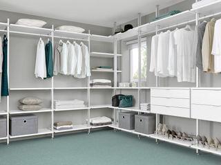 Walk-In Wardrobe Regalraum UK Вбиральня