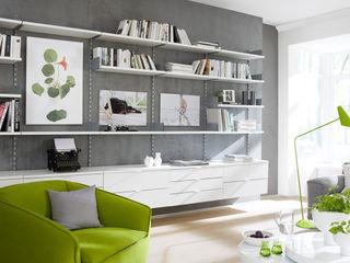 Living Room Regalraum UK Вітальня