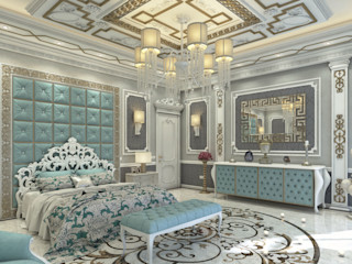 Emirates Project Rêny Classic style bedroom Turquoise