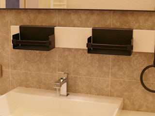 Квартира на Юго-западной Творческая мастерская АRTBOOS Ванная комната в стиле минимализм