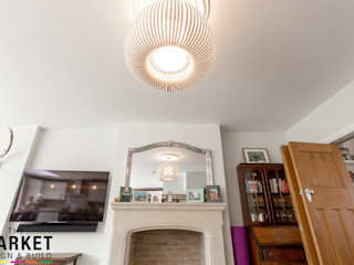 Stunning North London Home Extension & Loft Conversion The Market Design & Build Modern living room