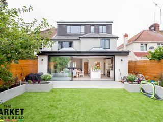 Stunning North London Home Extension & Loft Conversion The Market Design & Build Modern houses