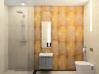 Apartment in Palace Green AR Architecture Modern bathroom