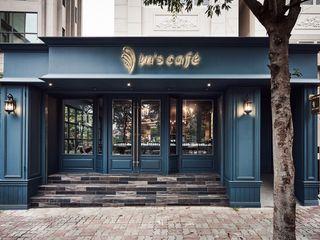 In's Cafe 理絲室內設計有限公司 Ris Interior Design Co., Ltd. 餐廳 Turquoise