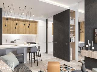 One Line Design Industrial style kitchen