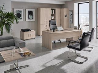 OrtsOFFICE 17 MUEBLES ORTS Oficinas y tiendas Aglomerado Acabado en madera