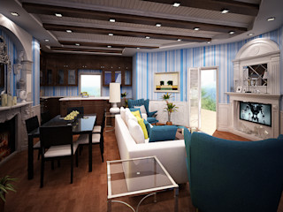Villa Fouad & Yosra Rêny Modern Living Room
